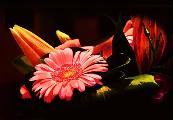 Photograph - Birthday Flowers by Susan Vineyard