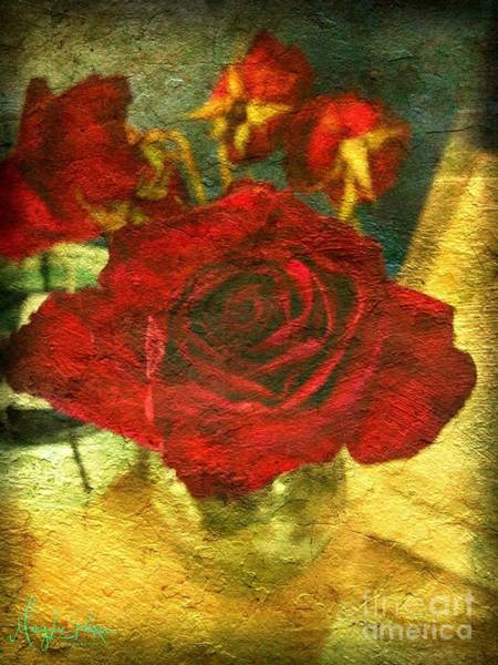 Photograph - Birthday Roses by MaryLee Parker