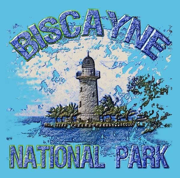Wall Art - Digital Art - Biscayne National Park by David G Paul