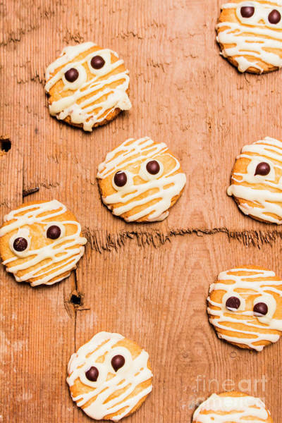 Cookies Photograph - Biscuit Gathering Of Monster Mummies by Jorgo Photography - Wall Art Gallery