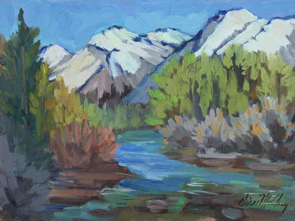Painting - Bishop Creek - Sierra Nevadas by Diane McClary