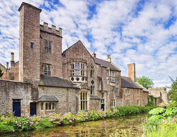 Bishop Photograph - Bishops Palace, Wells by Colin and Linda McKie