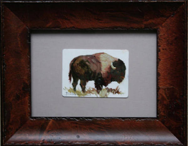 Painting - Bison by Betty Jean Billups