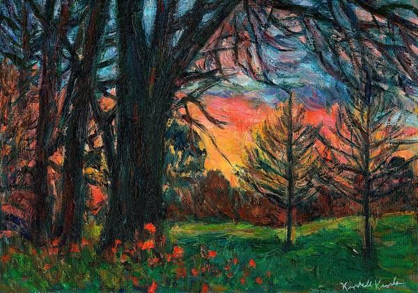 Painting - Bisset Park Sunrise by Kendall Kessler