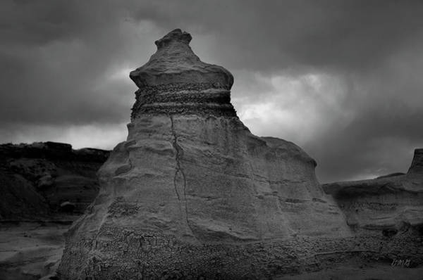 Photograph - Bisti Iv Bw by David Gordon
