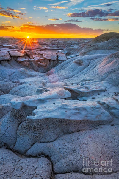Wall Art - Photograph - Bisti Last Light by Inge Johnsson