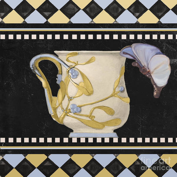 Wall Art - Painting - Bistro Nouveau I by Mindy Sommers