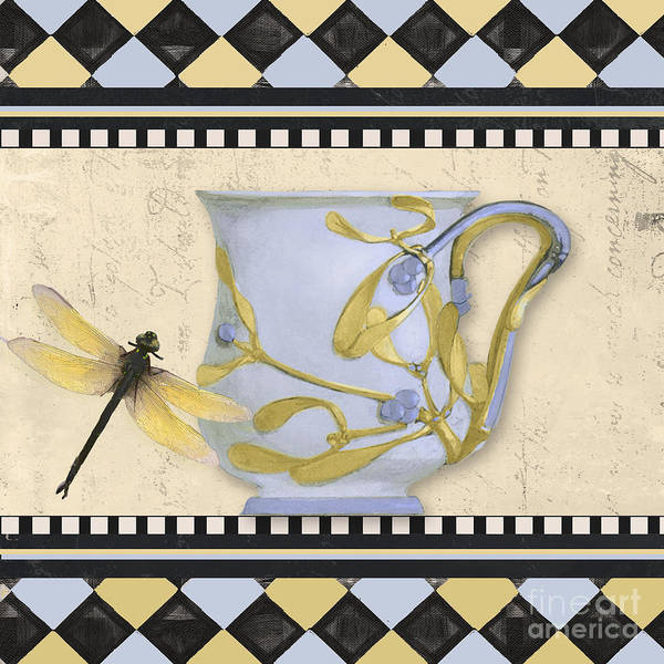 Wall Art - Painting - Bistro Nouveau II by Mindy Sommers