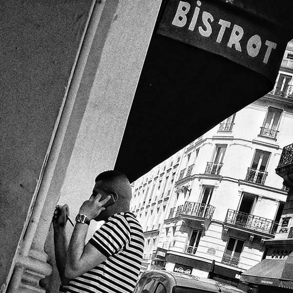 Wall Art - Photograph - Bistrot Man  #man #bar #bistrot by Rafa Rivas