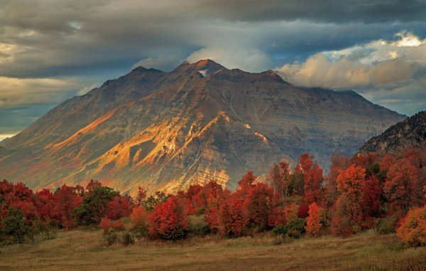 Photograph - Bits Of Light On Timpanogos. by Johnny Adolphson