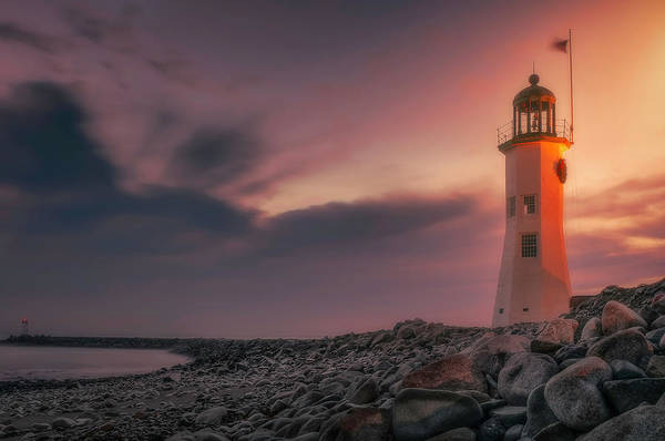 Photograph - Bittersweet Scituate Light by Thomas Gaitley