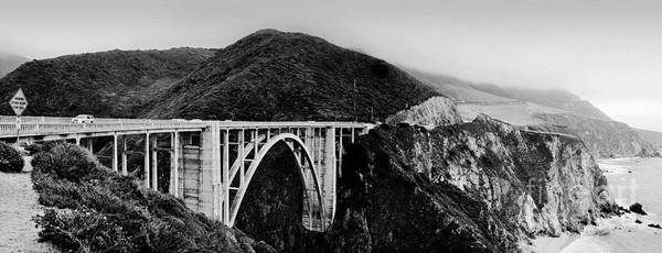 Photograph - Bixby Bridge - Big Sur - California by Carlos Alkmin