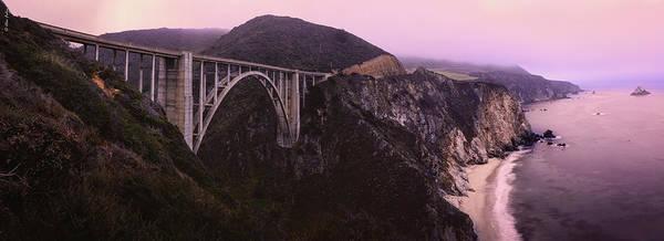 Photograph - Bixby Bridge Panorama by Alexander Fedin