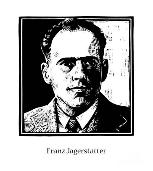 Painting - Bl. Franz Jagerstatter - Jlfrj by Julie Lonneman