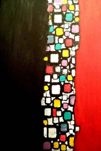 Painting - Black And Red by Nikki Dalton