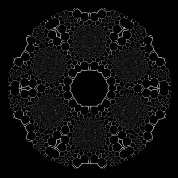 Digital Art - Black And White 1 by Robert Thalmeier
