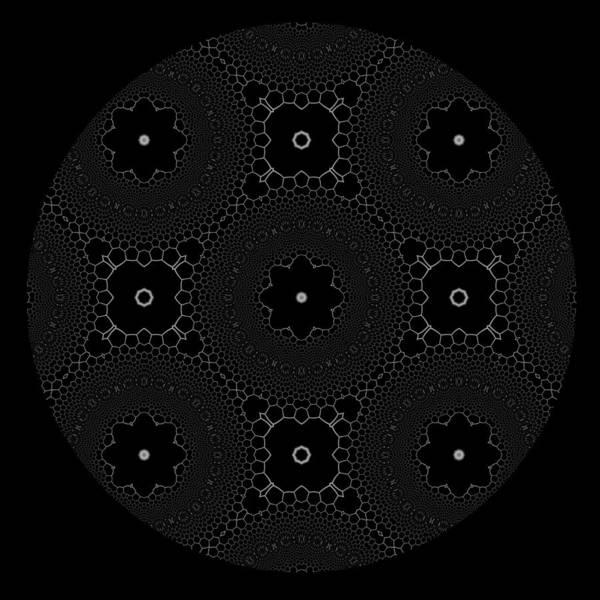 Digital Art - Black And  White 2 by Robert Thalmeier