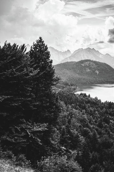 Wall Art - Photograph - Black And White Alps by Pati Photography
