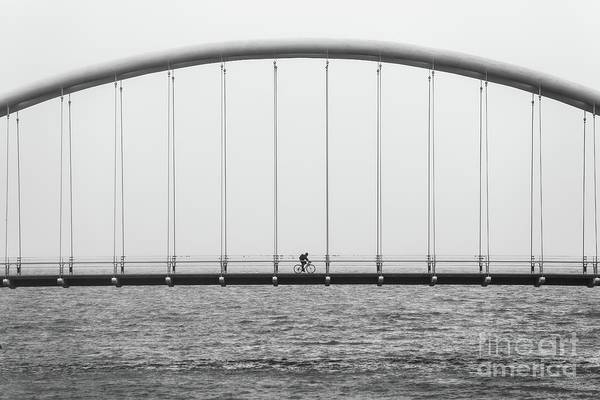 Wall Art - Photograph - Black And White Bridge by MGL Meiklejohn Graphics Licensing