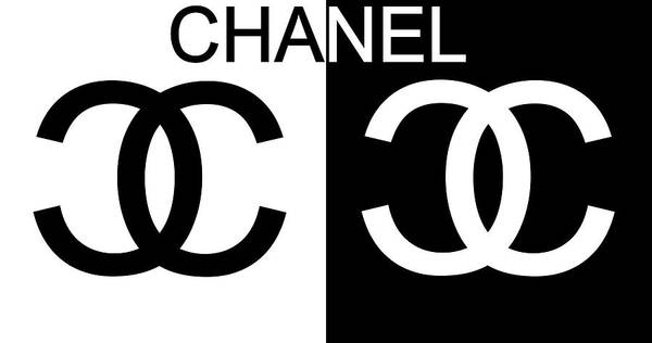 Black Mixed Media - Black And White Chanel by Dan Sproul