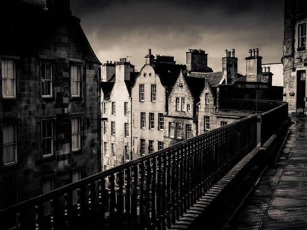 Wall Art - Photograph - Black And White Edinburgh by Mr Doomits