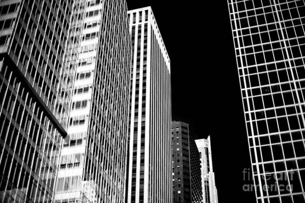 Photograph - Black And White In New York City by John Rizzuto