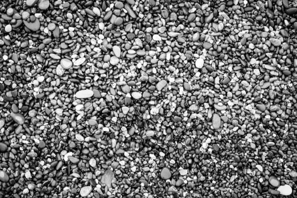 Photograph - Black And White Pebbles by John Williams
