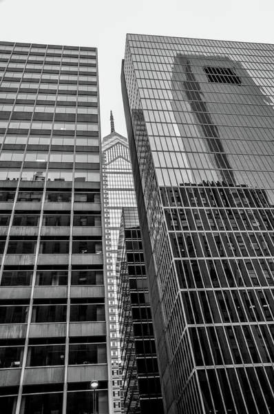Wall Art - Photograph - Black And White Philadelphia - Skyscraper Reflections by Bill Cannon