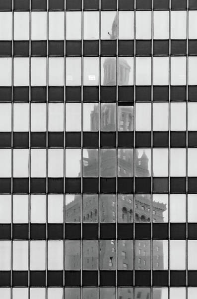 Photograph - Black And White Reflections by Stewart Helberg