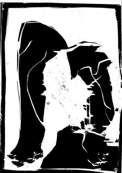 Digital Art - Black And White Series - Birth by Artist Dot