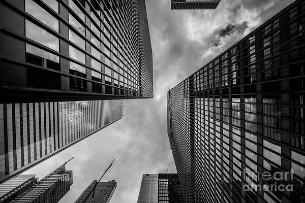 Wall Art - Photograph - Black And White Skyscraper by MGL Meiklejohn Graphics Licensing