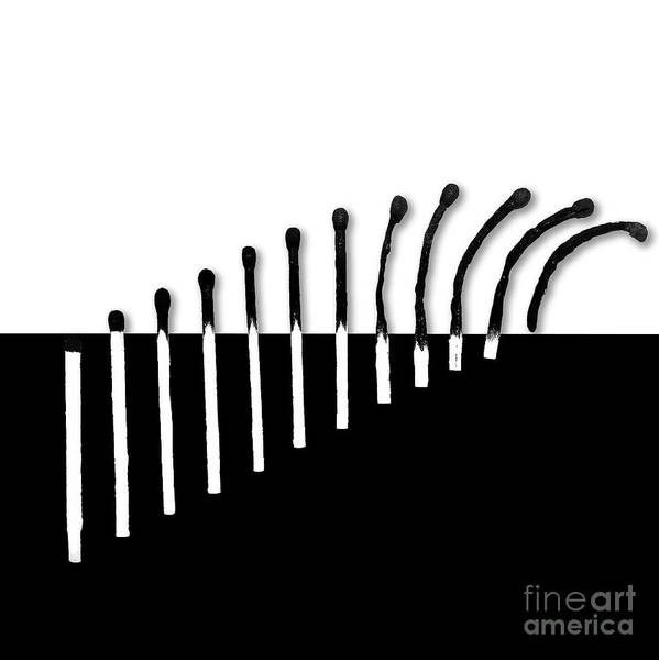 Flammable Wall Art - Photograph - Black And White by Valery Neumiarzhytski