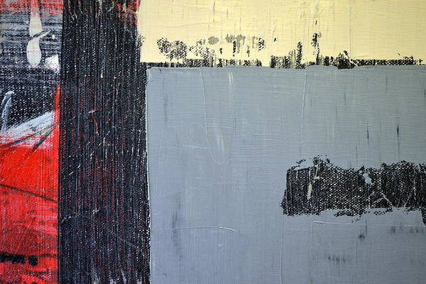 Painting - Black And White With Grey And Cream by Michelle Calkins
