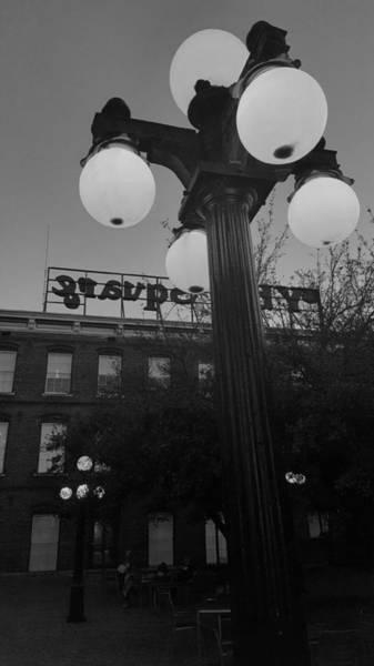 Digital Art - Black And White Ybor City by Stephanie Agliano