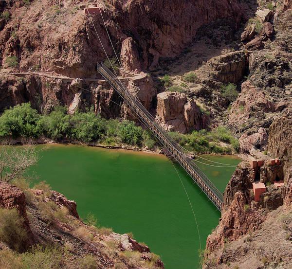 Photograph - Black Bridge, Grand Canyon  by Pete Hendley