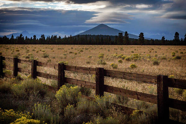 Wall Art - Photograph - Black Butte Lenticular by Cat Connor