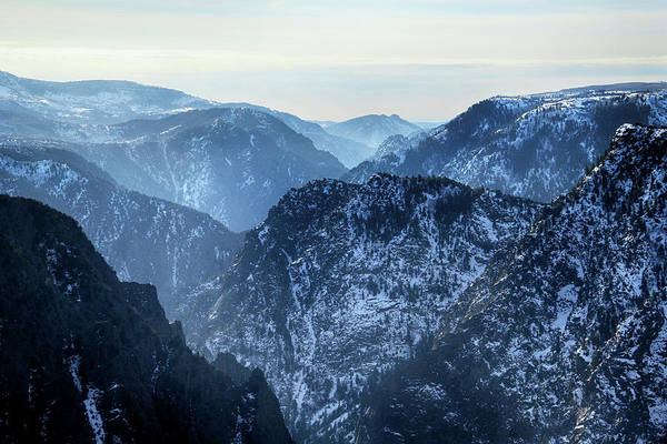 Photograph - Black Canyon In Winter by Marie Leslie
