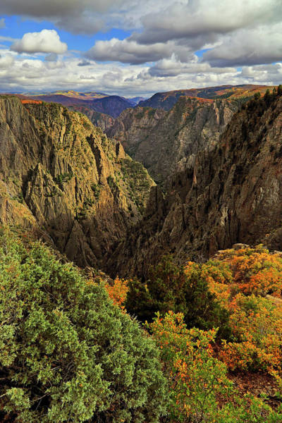 Photograph - Black Canyon Of The Gunnison - Colorful Colorado - Landscape by Jason Politte