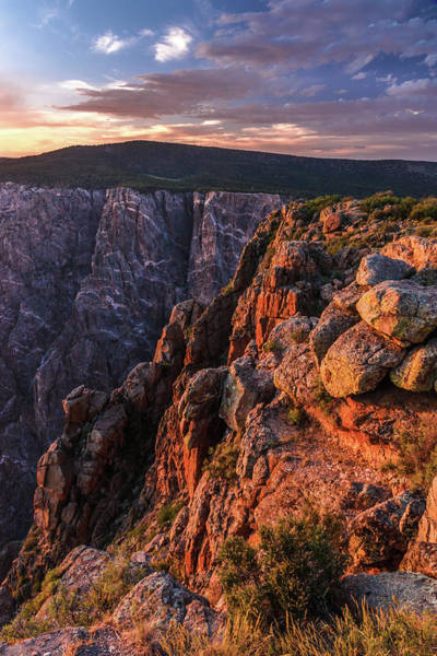 Photograph - Black Canyon Sunset Glow by Lon Dittrick
