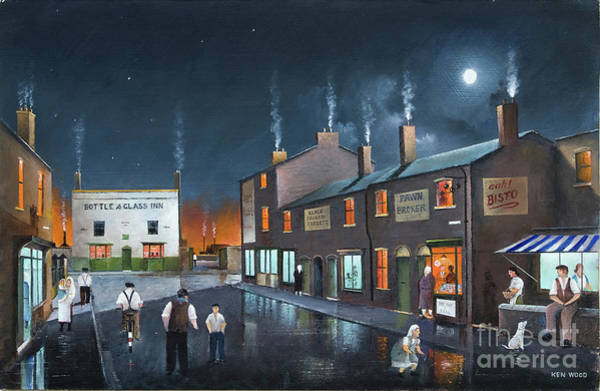 Painting - Black Country Friday Night by Ken Wood
