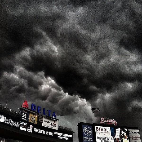 Baseball Wall Art - Photograph - Black Diamond by Dave Edens