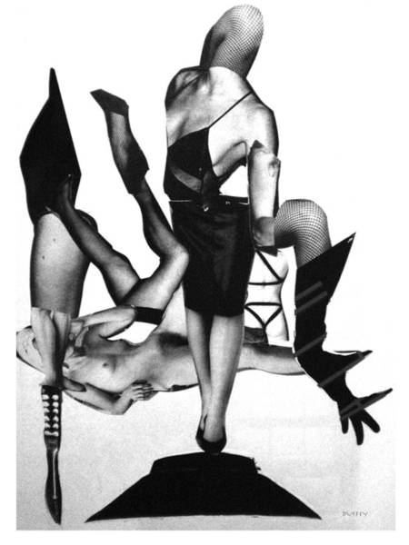 Digital Art - Black Drag-en Point by Doug Duffey
