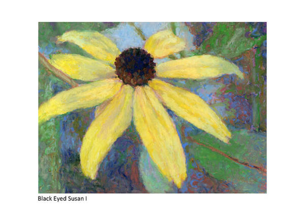 Painting - Black Eyed Susan I by Betsy Derrick