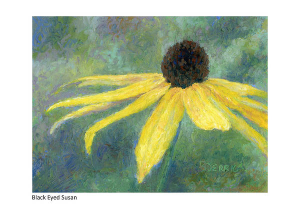 Painting - Black Eyed Susan II by Betsy Derrick
