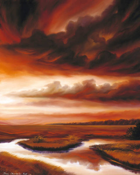 Painting - Black Fire by James Christopher Hill