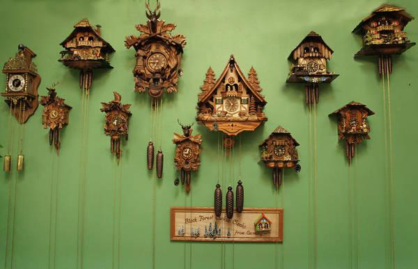 Wall Art - Photograph - Black Forest Cuckoo Clock by Art Spectrum