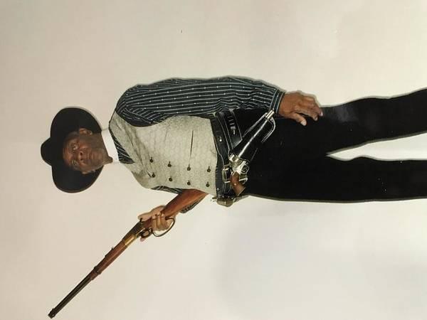 Wall Art - Photograph - Black Gun Fighter by Don Parish