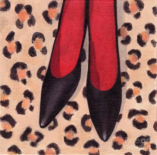 Black High Heels Art Print