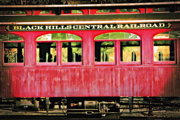 Wall Art - Photograph - Black Hills Central Railroad 2 - Lomo Style by Steve Ohlsen