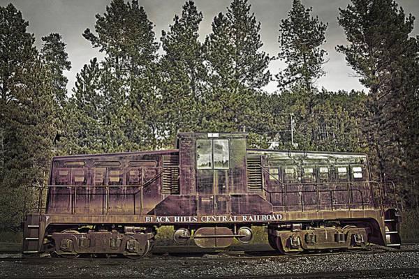 Wall Art - Photograph - Black Hills Central Railroad - Lomo Style by Steve Ohlsen